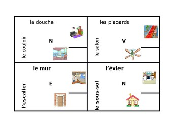 Maison (House in French) 4 by 4