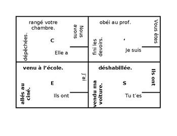 Passé Composé French 4 by 4