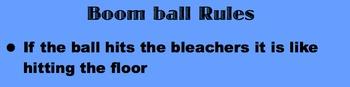 4 corner Boom Ball