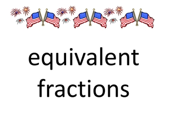 4 corners fractions posters
