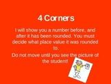4 corners rounding Math game