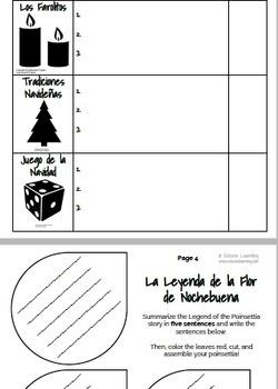 Interactive Cultural Activities for Christmas / La Navidad