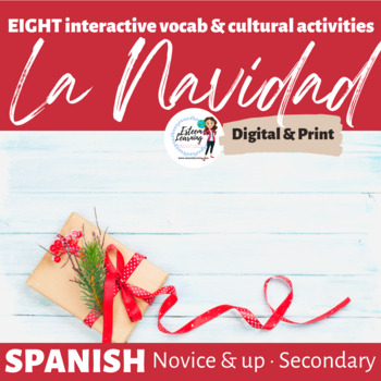 Interactive Cultural Activities for Christmas / La Navidad