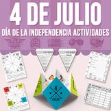 Cuatro de Julio - Día de la Independencia - Actividades