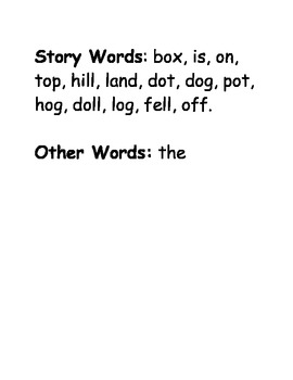 4 decodable short o stories