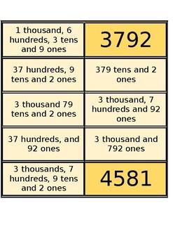 4 digit Renaming Cards