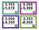 4 digit addition task cards with and without regrouping; w
