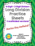 4-digit divided by 2-digit Scaffolded Long Division Fluenc