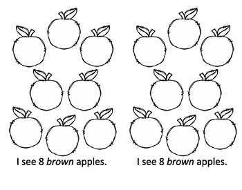 September Apple Math Books 4 in 1