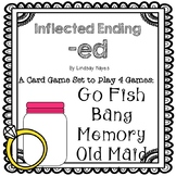 4 in 1 Card Games with inflected ending -ed