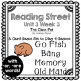 4-in-1 Spelling & HFW -or, -ore (Reading Street: The Class Pet)