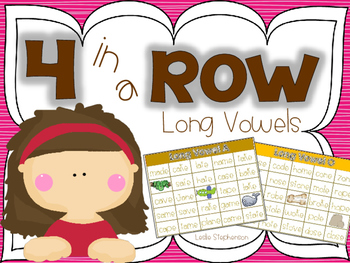 4 in a Row - Long Vowels