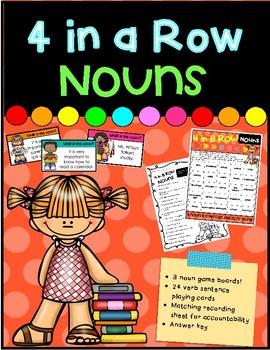 4 in a Row- Nouns