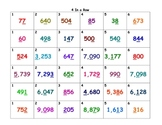 4 in a Row-Place Value