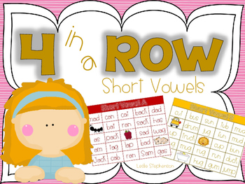 4 in a Row - Short Vowels