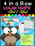 4 in a Row- Vowel Teams -ou/-ow