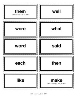 4-letter vocabulary spelling sight words cards for prek primary kindergarten