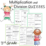 4 multiplication and division quizes
