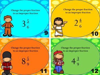 4.nf.3b Proper Fractions to an improper fraction