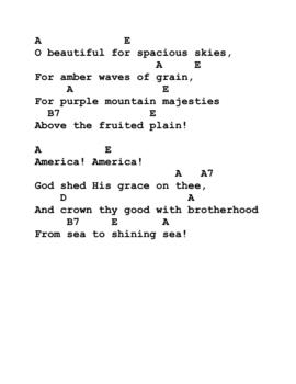 4 patriotic songs