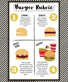 4 point visual scale Burger Theme (Sam's Club friendly print)