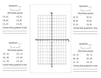4 quadrant introduction flippable