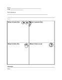 4-square graphic organizer