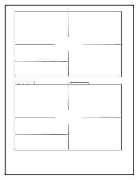 4 squares Vocabulary Journal