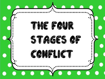 4 stages of Conflict