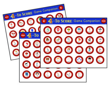 4 to Score Articulation Game Companion