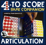 Four to Score Articulation Game Companion