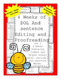 4 weeks of Sentence Labeling, Editing and Proofreading Nou