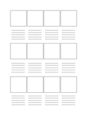 4 x 3 Storyboard outline