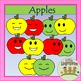 Apples Clipart w/Blackline Master Fall~Back to School~Sequencing~Science