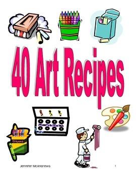 40 Art Recipes