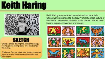 40 Art Starters Bell Ringers and Sketchbook Prompts 5-8 LONGER VERSION