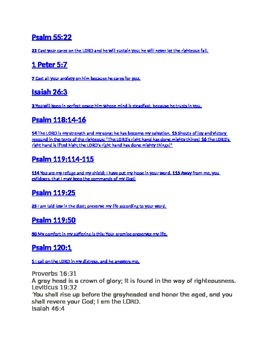 40 Bible verses about encouragement and growing older :)