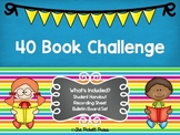 40 Book Challenge Bulletin Board
