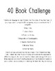 40 Book Challenge Bundle!