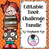 Editable Book Challenge Bundle