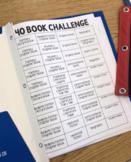 40 Book Challenge Editable