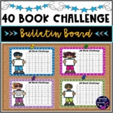 40 Book Challenge Inspired Bulletin Board