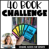 40 Book Challenge Student Forms