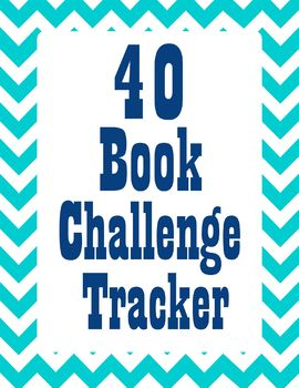 40 Book Challenge Student Tracking Form