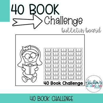 40 Book Challenge Template