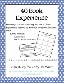 40 Book Experience