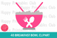 40 Breakfast Bowl Clipart- Cereals Bowl Clipart- Colorful Bowls Clipart