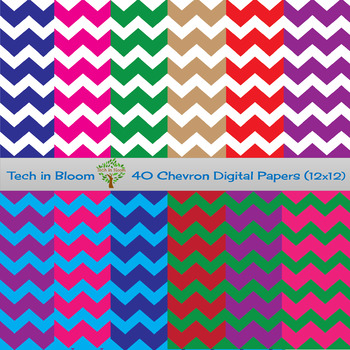 40 Chevron Digital Papers
