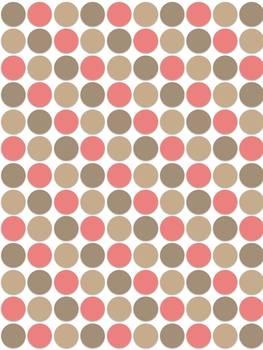 40 Colorful Polka Dot Digital Papers