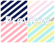 40 Colorful Stripes Backgrounds *Commercial or Personal Use*